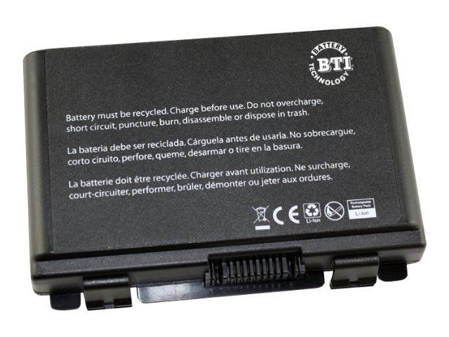 BTI Battery, Li-Ion 4400mAh 10.8V 6-cell for Asus, AS-K50
