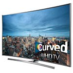 Samsung 78 JU7500 4K UHD LED-LCD Curved 3D TV, Brushed Silver, UN78JU7500FXZA, 31949825, Televisions - LED-LCD Consumer