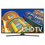 Samsung 55 KU6300 4K Ultra HD LED-LCD TV, Black, UN55KU6300FXZA, 31957649, Televisions - LED-LCD Consumer
