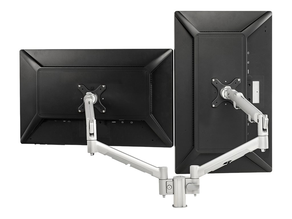 Atdec Dual Monitor Spring Arm 4 Post Desk Mount, SDS10S