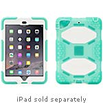 Griffin Survivor All-Terrain Case w  Stand for iPad mini 1 2 3, Green White, Touch ID Compatible, GB40864, 31993973, Carrying Cases - Tablets & eReaders