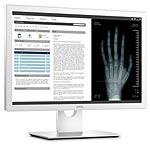 Dell 24 MR2416 LED-LCD Medical Monitor, White, MR2416, 31995477, Monitors - Medical