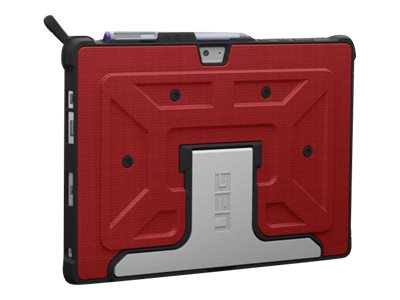 Urban Armor Surface 3 Bisque Folio, Red, UAG-SURF3-RED-VP, 19459111, Carrying Cases - Other