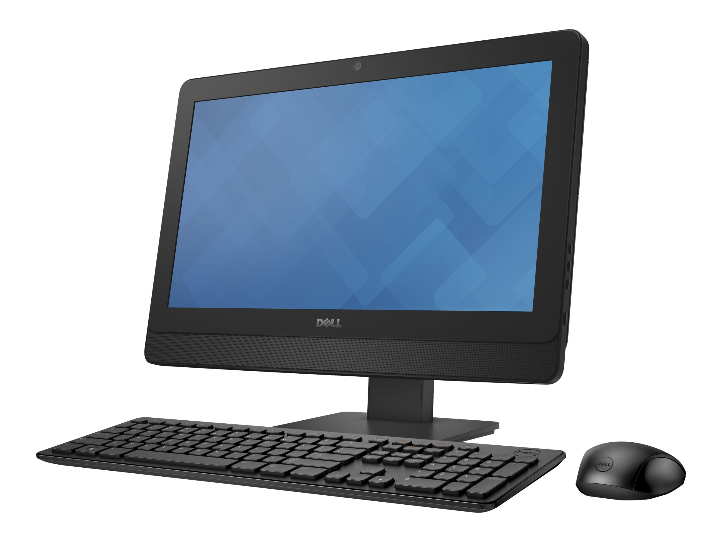 Dell OptiPlex 3030 AIO Core i3-4160 3.6GHz 4GB 500GB DVD+RW GbE agn 19.5 HD+ W7P64-W8.1P, 44K9G, 19135731, Desktops - All-in-One