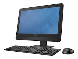 Dell OptiPlex 3030 AIO Core i3-4170 3.7GHz 4GB 500GB DVD+RW GbE agn 19.5 HD+ W10P64, 90KWP, 32309096, Desktops - All-in-One