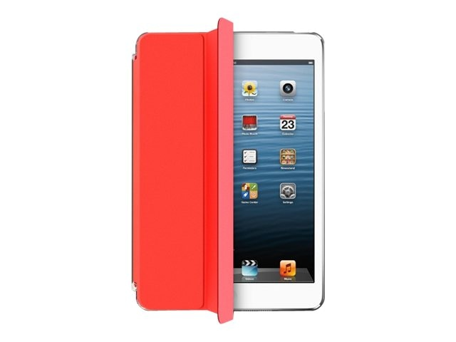 Aluratek Slim Color Smart Case for iPad mini, Red Apple, AIMC03FR