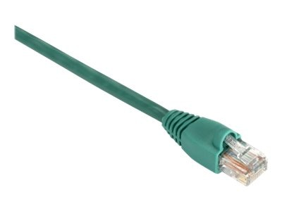 Black Box GigaBase 350MHz CAT5E Snagless Booted Patch Cable, Green, 6ft, EVNSL82-0006