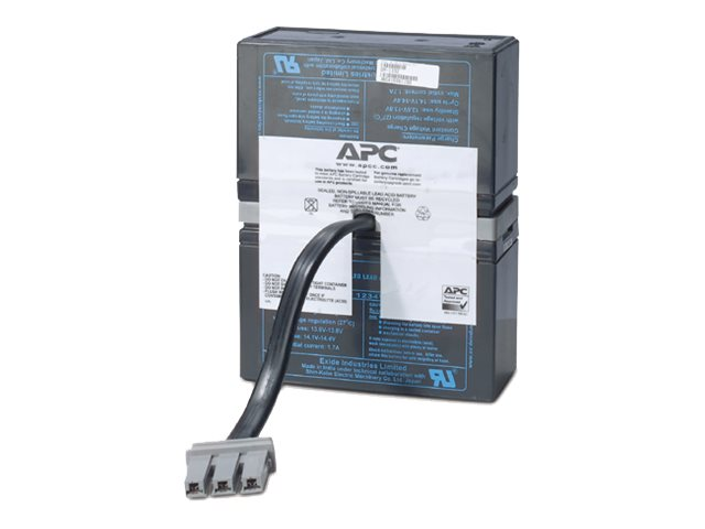 APC Replacement Battery Cartridge #33 for BR1500 , BX1500 , SC1000 models, RBC33, 5769679, Batteries - Other