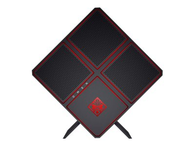 HP Chassis, Omen X 900-011, Black with Red Lighting