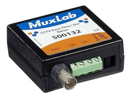 MuxLab CCTV Pass-Thru GLI Balun, 500132, 16219824, Video Extenders & Splitters
