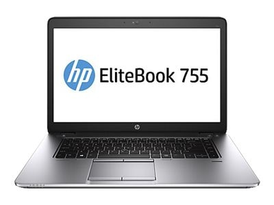 HP EliteBook 755 G3 1.8GHz A10 Series 15.6in display, T3L75UT#ABA