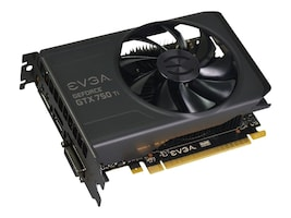 eVGA GeForce GTX 750 Ti PCIe Graphics Card, 2GB GDDR5, 02G-P4-3751-KR, 16835424, Graphics/Video Accelerators