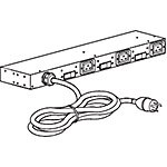 APC Rack PDU Basic 0U 1U 200-240V L15-30P 12ft Cord (3) C19