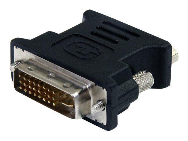 StarTech.com DVI to VGA M F Adapter, Black, DVIVGAMFBK, 12344521, Adapters & Port Converters