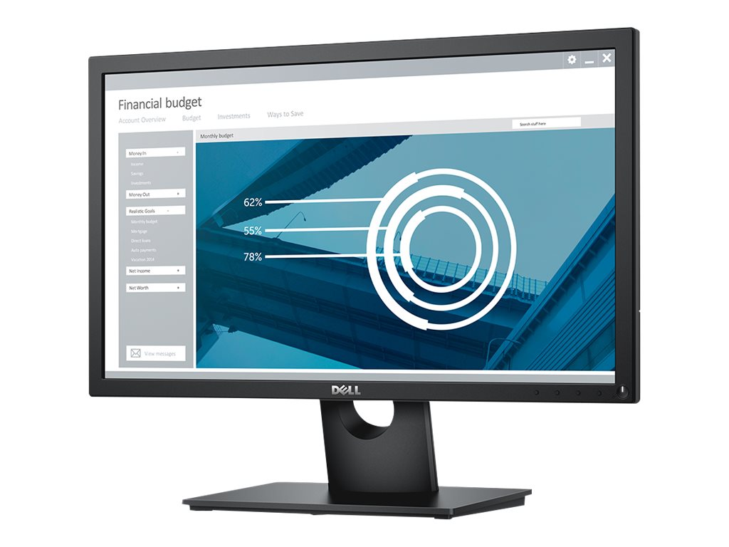 Dell 21.5 E2216H  Full HD LED-LCD Monitor, Black, E2216H, 28667034, Monitors - LED-LCD