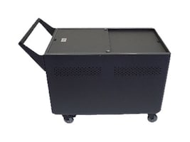 Datamation 40-Unit Sync and Charge Security Cart for iPads, DS-GR-T-L40-SC, 17441574, Computer Carts