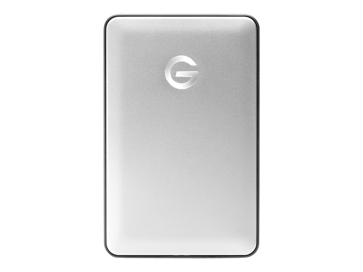 G-Technology 1TB G Drive Mobile USB 3.1 Portable Hard Drive, 0G04876