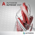 Autodesk Corp. AutoCAD 2017 Commercial New Multi-user Add  Seat 3-Year Subscription w Basic Support