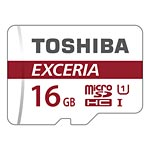 Toshiba 16GB M302 MicroSDHC Flash Memory Card with Adapter, Class 10