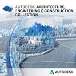 Autodesk Corp. Architecture Engineering Construction Collection IC Single-user ELD Annual Sub W  Adv Support