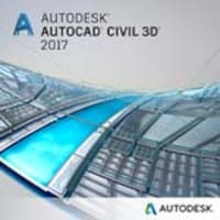 Autodesk Corp. AutoCAD Civil 3D 2017 Commercial New Single-user ELD Annual Sub with Basic Support SPZD, 237I1-WW9166-T612-VC, 32468265, Software - CAD