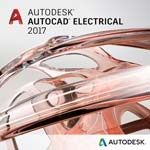 Autodesk Corp. AutoCAD Electrical 2017 Commercial New Single-user ELD Annual Sub with Basic Support New Term