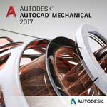 Autodesk Corp. AutoCAD Mechanical 2017 Multi-user ELD Annual Subscription with Basic Support SPZD