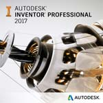 Autodesk Corp. Inventor Professional 2017 Single-user ELD 3-Year Subscription with Basic Support SPZD