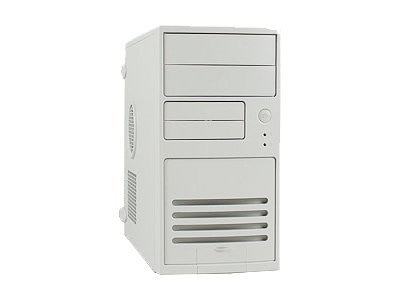 In-win Chassis, Mini-Tower, 5 Bays, MATX, 300W AJ2 20 4P PS, Beige, V508T.J300FU2D, 6384228, Cases - Systems/Servers
