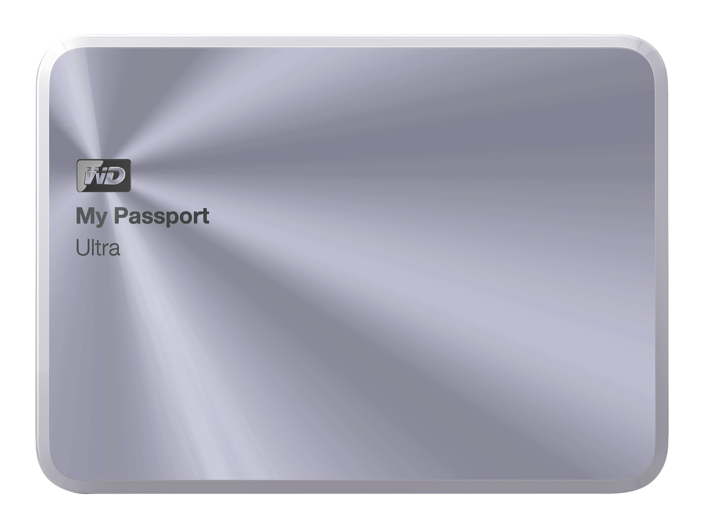WD 1TB My Passport Ultra Metal Edition USB 3.0 Portable Hard Drive - Silver, WDBTYH0010BSL-NESN