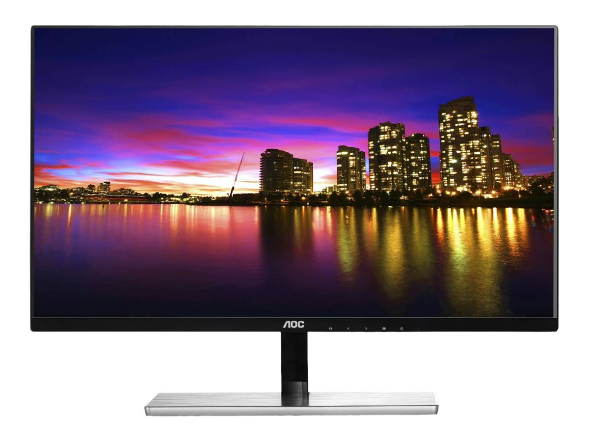 AOC 23 I2379VHE Full HD LED-LCD Monitor, Black, I2379VHE, 30708122, Monitors - LED-LCD