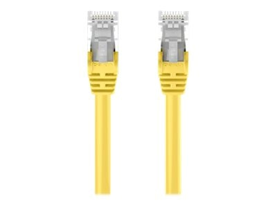 Belkin Cat5e Patch Cable, Yellow, Snagless, 6ft, A3L791-06-YLW-S
