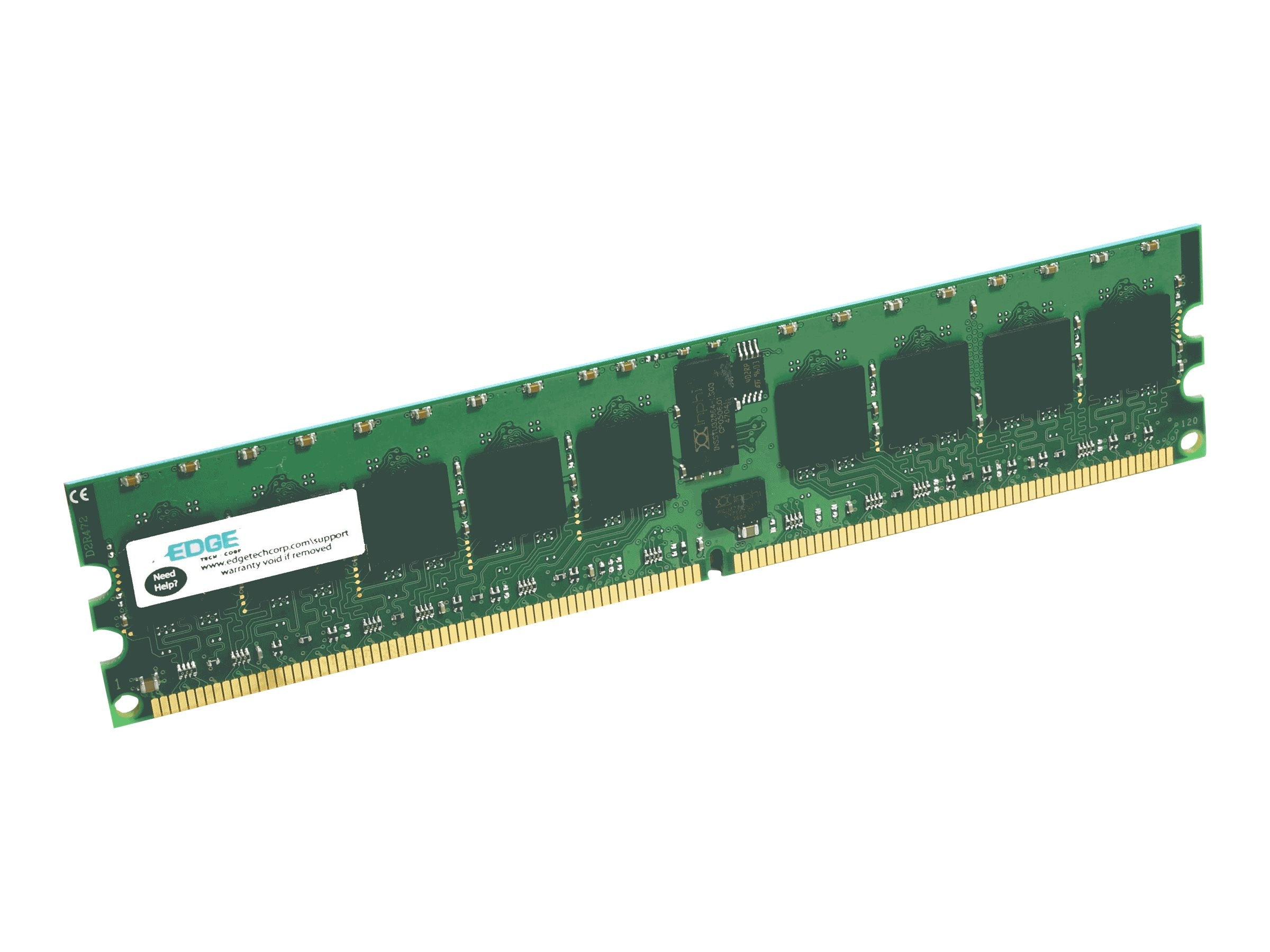 Edge 8GB PC3-12800 240-pin DDR3 SDRAM DIMM, PE232085, 14968670, Memory
