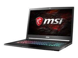 MSI GS73 Stealth Core i7-7700 2.58GHz 16GB 256G+2TB ac BT WC 3C GTX 1060 17.3 FHD W10, GS73VR224, 33580128, Notebooks