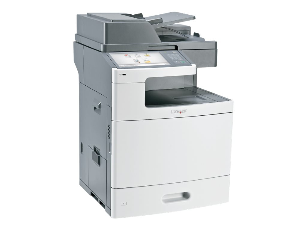 Lexmark X792de Color Laser MFP, 47BT323, 30682971, MultiFunction - Laser (color)