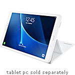 Samsung Book Cover for Galaxy Tab A 10.1, White