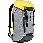 Incipio Incase Halo Courier Backpack for 17 Laptop, Heather Gray Black Yellow