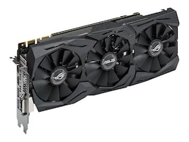 Asus NVIDIA GeForce GTX 1080 PCIe 3.0 Graphics Card, 8GB GDDR5X, STRIX-GTX1080-8G-GAMING, 32146418, Graphics/Video Accelerators