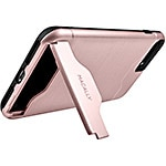 Macally Dual Layer Protective Case w  Kickstand for iPhone 7 Plus, Rose Gold
