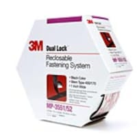 3M 1 x 4.9yds Dual Lock Reclosable Fastener System, 2-Pack, MP3551, 32811060, Office Supplies