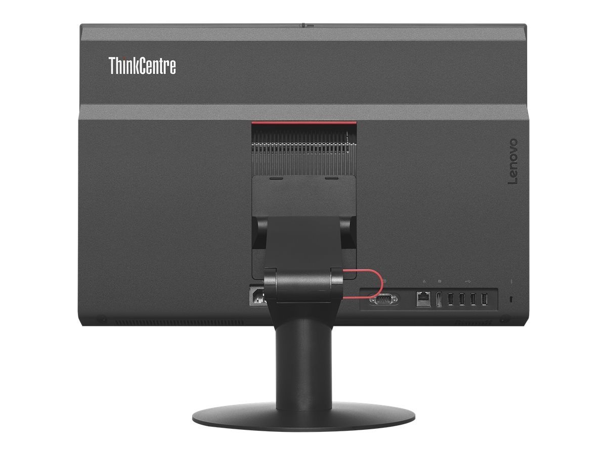 Lenovo TopSeller ThinkCentre M810Z AIO DC i3-7100 3.9GHz 8GB 500GB HD630 DVD+RW ac BT WC 21.5 FHD W10P64, 10NY0014US