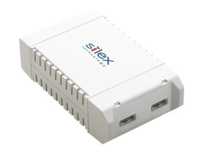 Silex 2-Port HI-Speed USB Device10 100 1000 Base Wired LAN, SX-3000GB US, 18661536, Remote Access Servers