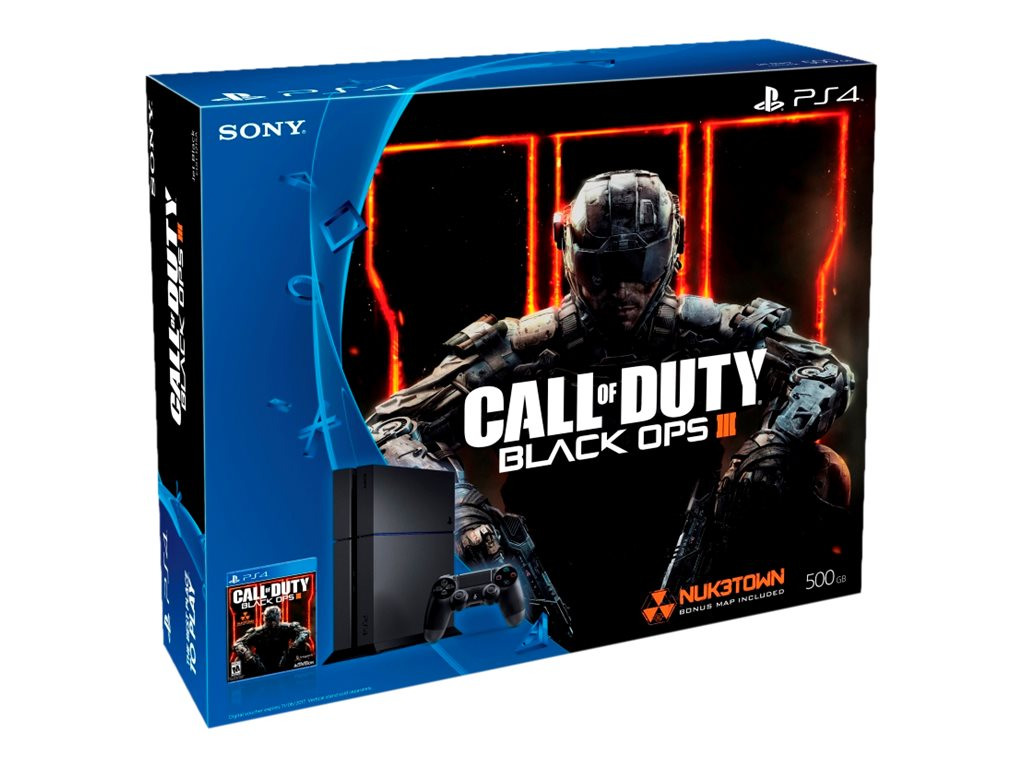 Sony 500GB PS4 Console with Call of Duty: Black Ops