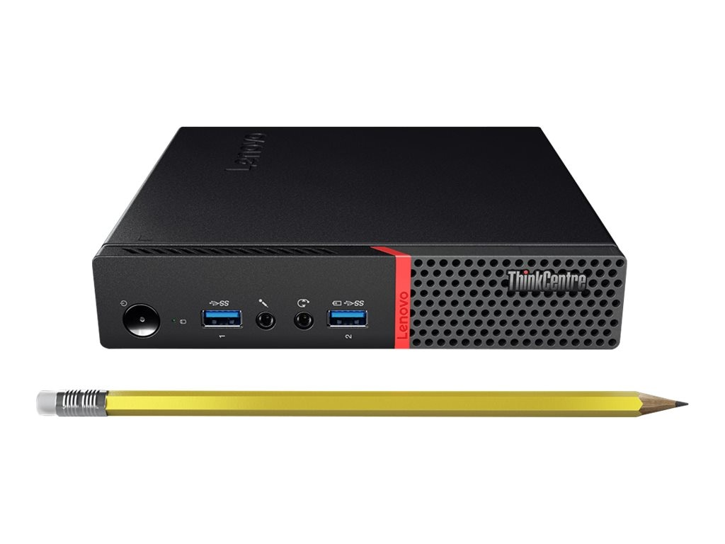 Lenovo Shape the Future ThinkCentre M600 Tiny N3700 1.6GHz W10P, 10G9S00C00, 31711121, Desktops