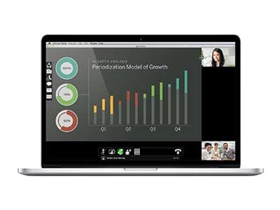 Lifesize Cloud 1-100 Users - 1-year, 3000-0000-0129, 21160038, Software - Audio/Video Conferencing