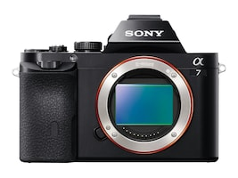Sony a7 Interchangeable Lens Camera Body Only, ILCE7/B, 16390402, Cameras - Digital