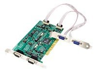 Quatech 4-port Optically Isolated Midport Universal PCI Card