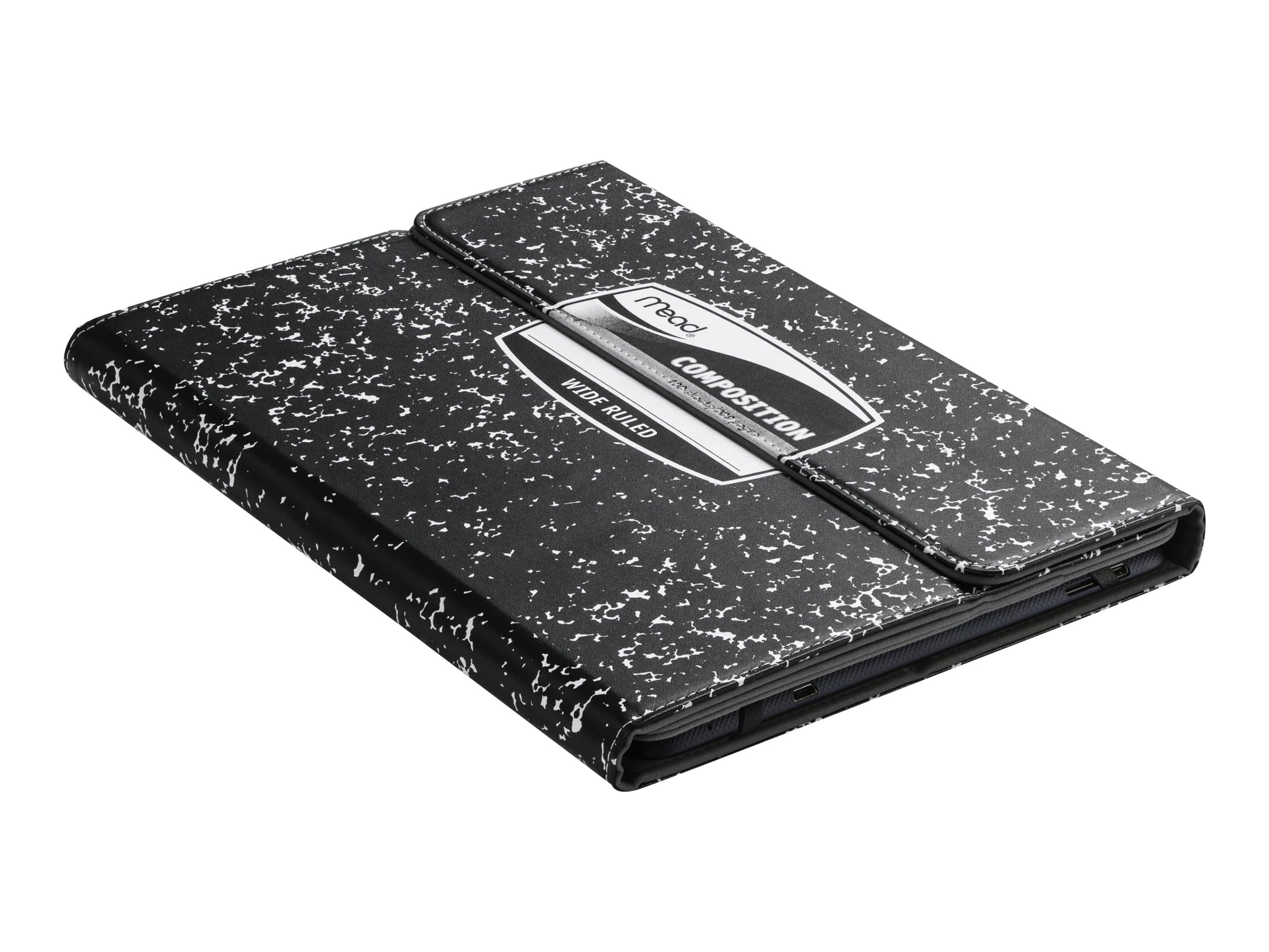 Kensington Composition Book Universal Case for 9 10 Tablets, Black