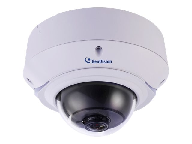 Geovision 4MP Outdoor IR Day Night WDR Dome IP Camera with 3-9mm Lens