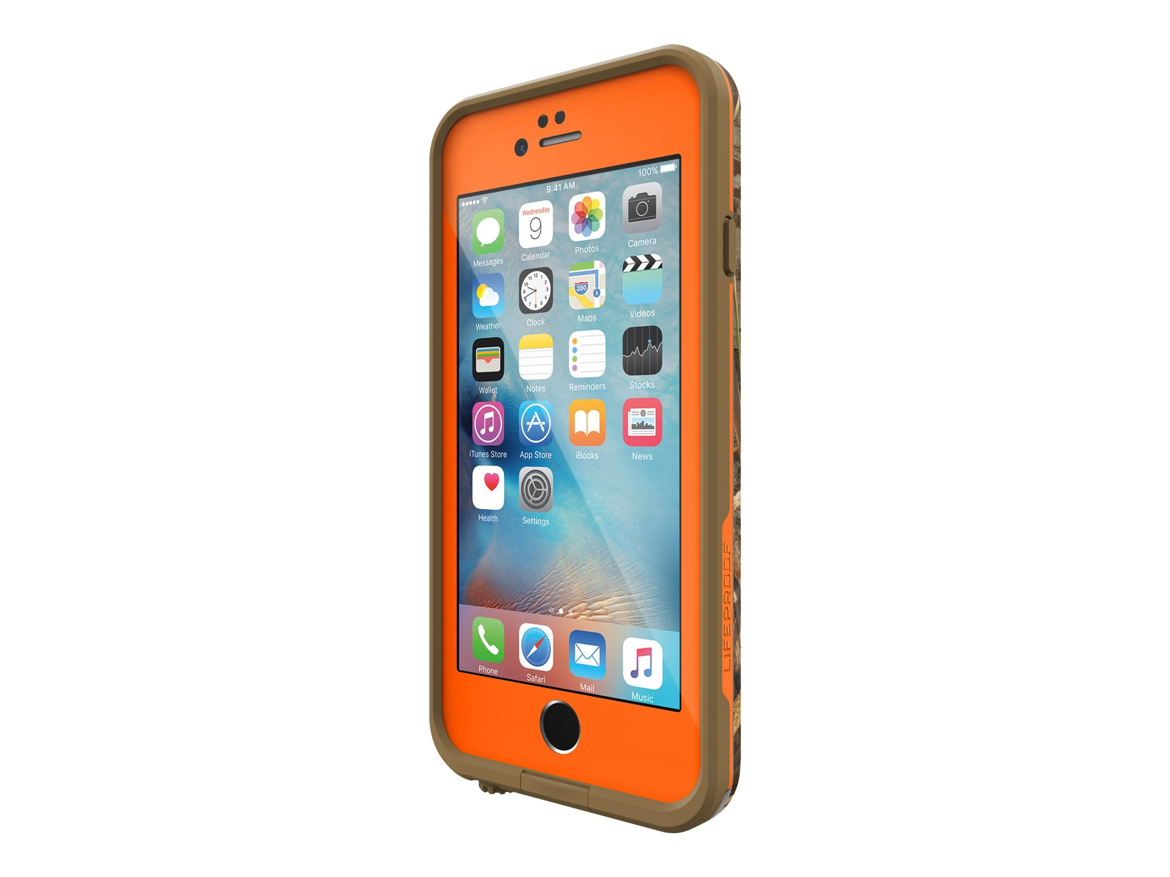 Lifeproof fre Case Rt Max for iPhone 6 6S, Orange, 77-52528